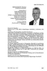 Kretschmann Winfried Abgeordnetenhandbuch WP 14
