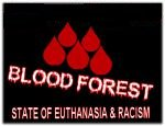 flag blood forest warning no bw base
