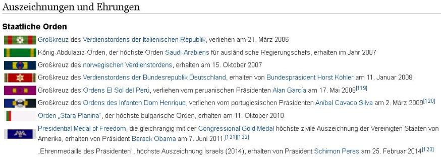 Merkel Orden