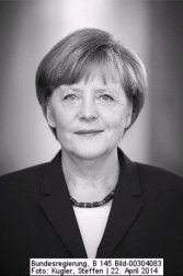Merkel pic by German government