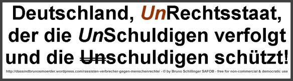 Deutschland Unrechtsstaat frame