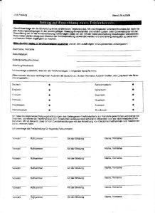 JVA Antrag auf Einrichtung eines Telefonkontos 01 of 02