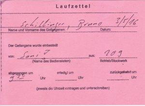 Laufzettel 02 of 09