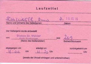 Laufzettel 03 of 09